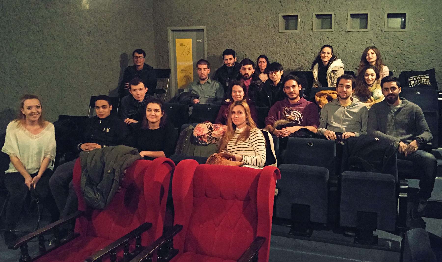We have been hitting the indy cinema, Meduza, just around the corner to watch some movies and talk about it with our international fellow students. You are all welcome to join us: look for updates at hello.uni.opole.pl/erasmus